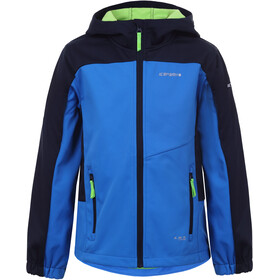 Icepeak Laurens Softshell Jas Kinderen, blue